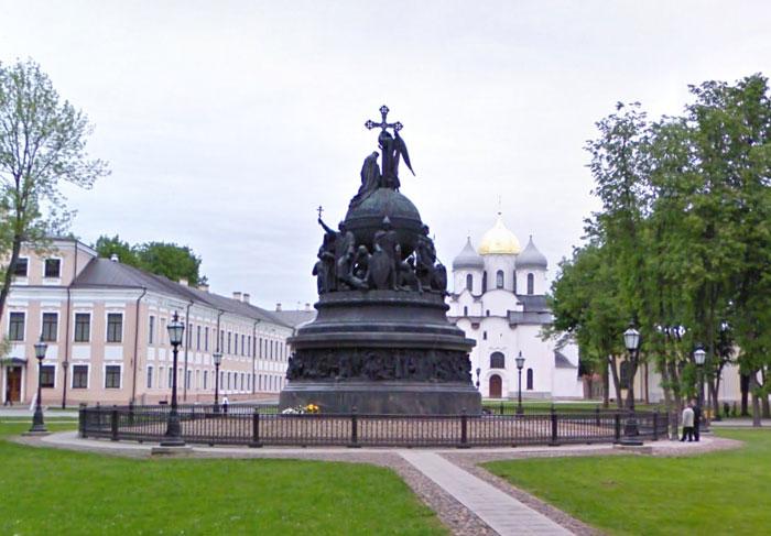 """Памятник_""""Тысячелетие_России""""_pamyatnik_Tusyatheletie_Rossii"""