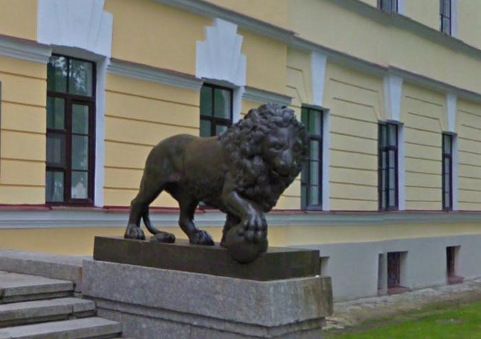 скульптура_льва_skulptura_lva