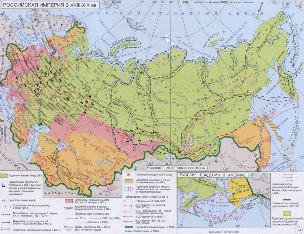 Россия_XVIII_XIX_в._Rossia_XVIII_XIX_v.