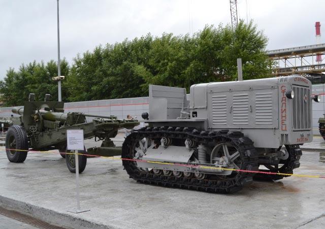 трактор_Сталинец_traktor_Stalinets