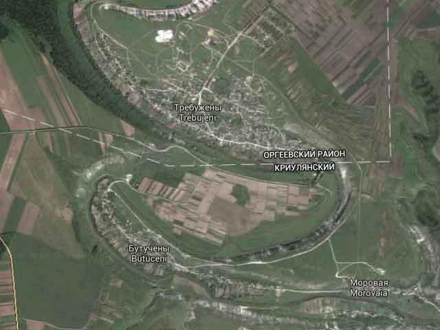 карта_Старый_Орхей_karta_Staryy_Orkhey