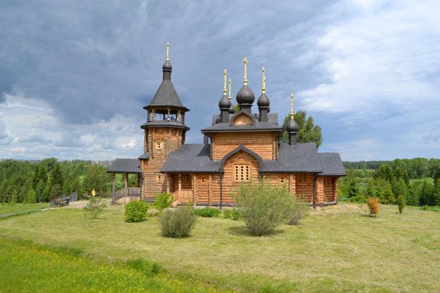 деревянная_церковь_derevyannaya_tserkov'