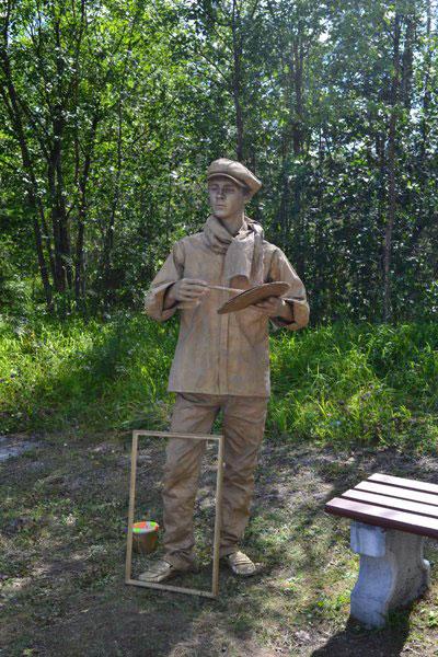 статуя_художника_statuya_khudozhnika