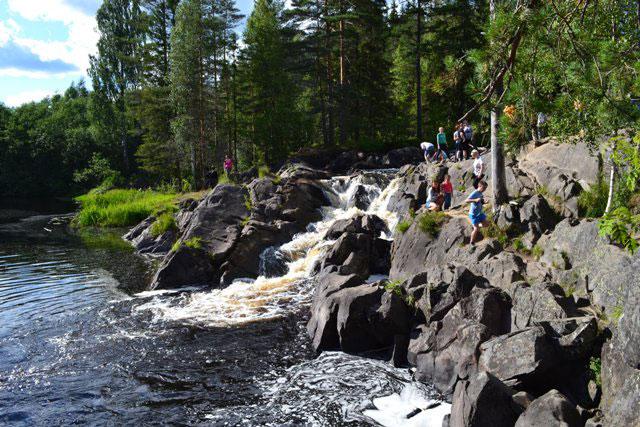 водопад_Ахвенкоски_vodopad_Akhvenkoski