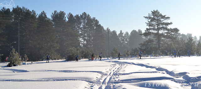 лыжники_lyzhniki
