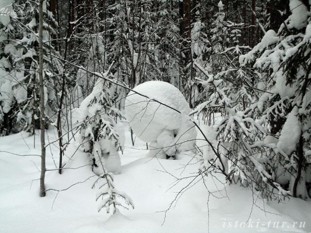 снежное_существо_snezhnoe_sushchestvo