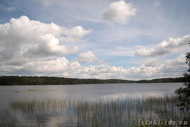 озеро_в_Карелии_ozero_v_Karelii
