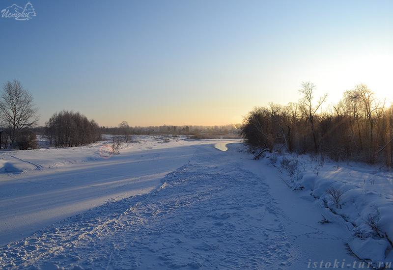 заснеженная_река_Каква_zasnezhennaya_reka_Kakva